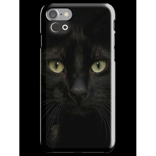 Black on Black.. iPhone 7 Snap Case