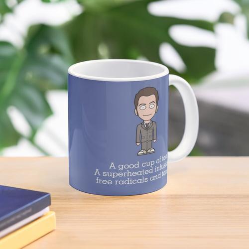The Tenth Doctor drinks Mug