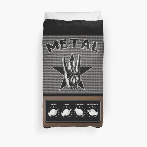 METAL - HEAVY METAL Duvet Cover