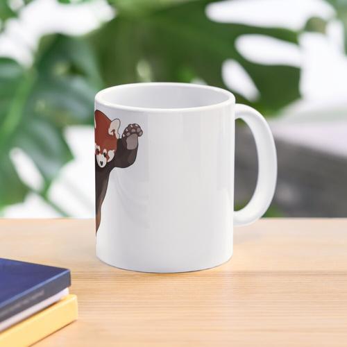 Red Panda Excited Mug