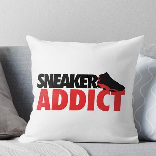 Sneaker Addict J13 Throw Pillow