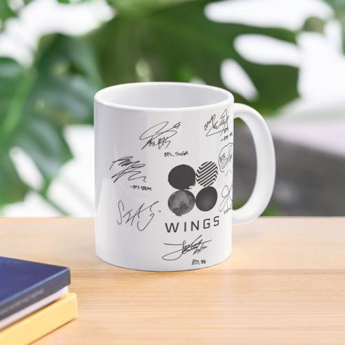bts signatures Mug