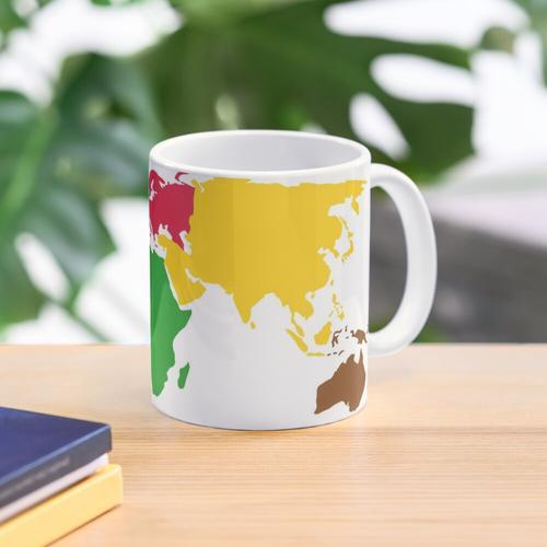 Montessori World Map Mug