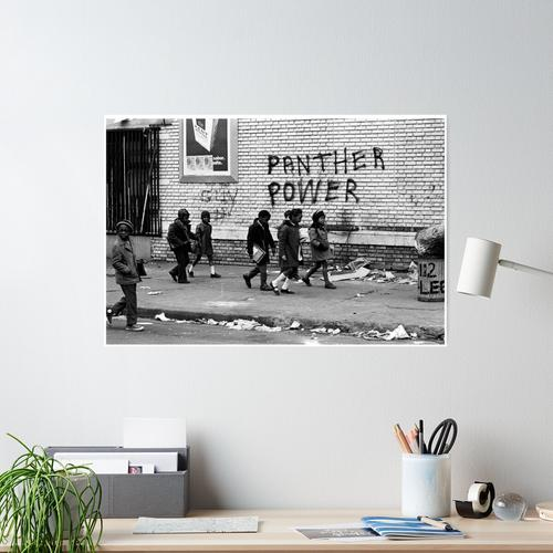 Black Panthers - Panther Power Poster
