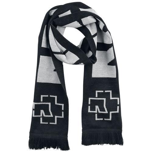 Rammstein Rammstein Schal - schwarz grau - Offizielles Merchandise
