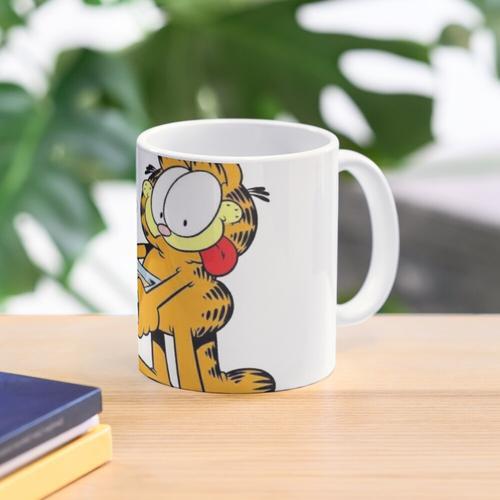 Garfield and his lasagna Mug
