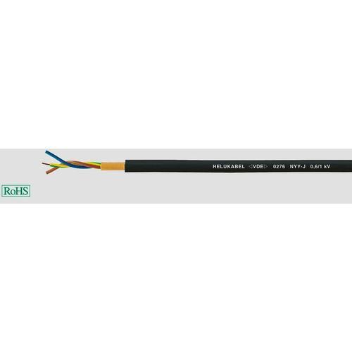 32061 Erdkabel NYY-J 5G 4mm² Schwarz 50m D839721 - Helukabel