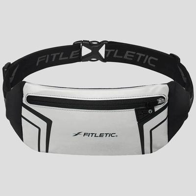 Fitletic Blitz Running Belt Packs & Carriers Silver