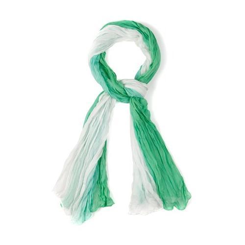 Große Größen Schal Damen (Größe One Size, grün) | Ulla Popken Schals & Tücher | Modal, Crashlook
