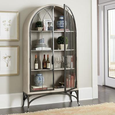 Aris Glass Door Cabinet - Ballard Designs