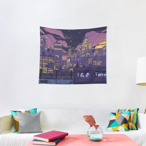 Doom over Carbon Valley Wall Tapestry