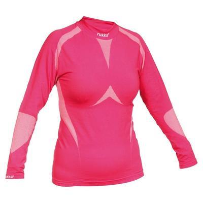 Rukka Mona Ladies Seamless Shirt, pink, Size S for Women