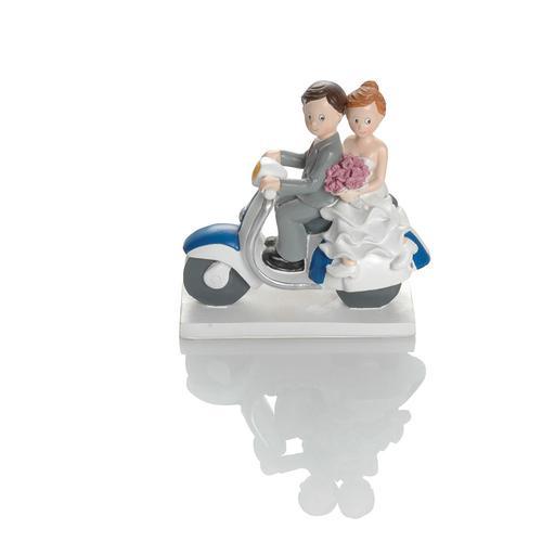 Booster Deko Figur Hochzeit Roller 3