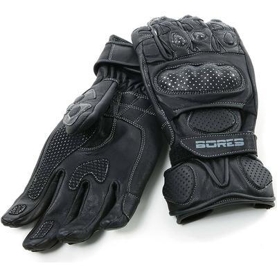 Bores Dark Black Gloves Gants, noir, taille L