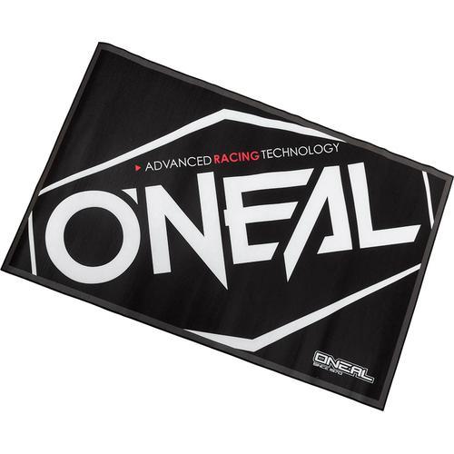 Oneal Werkstatt Teppich, schwarz