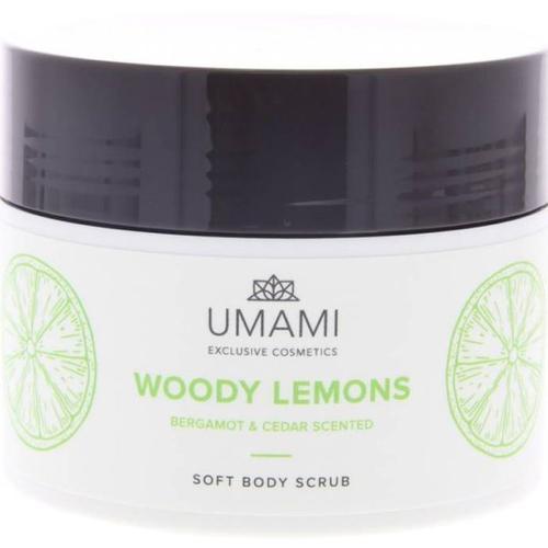 Umami Woody Lemons Body Scrub 250 ml Körperpeeling