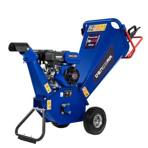Denqbar - 5,1 kW (7 PS) Gartenhäcksler, Gartenschredder mit Benzinmotor