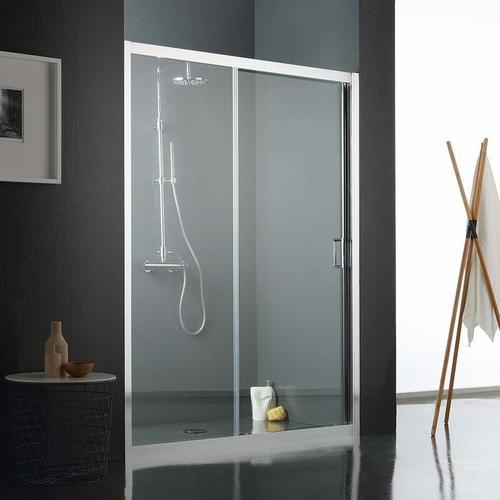Duschtür Für Nische Aus Transparentem Kristallglas 120 Cm