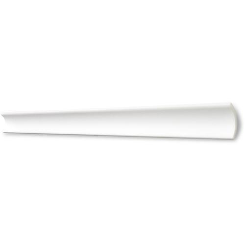 Decosa Zierprofil B5, weiss, 35 x 35 mm Laenge 2 m - 010 Stueck