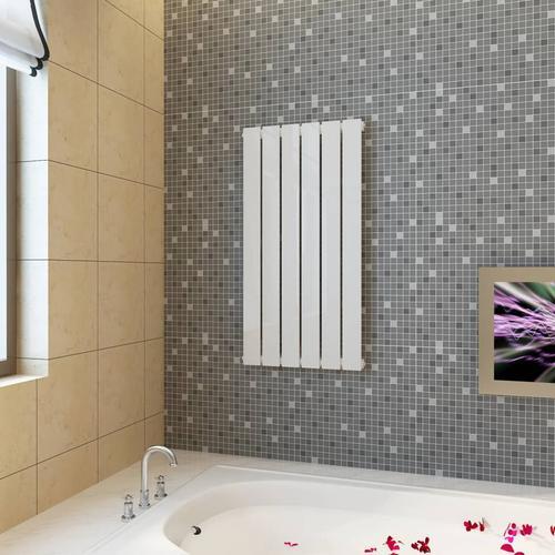 vidaXL Paneelheizkörper Weiß 465 × 900 mm