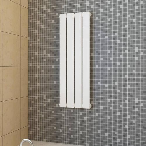 vidaXL Paneelheizkörper Weiß 311 × 900 mm
