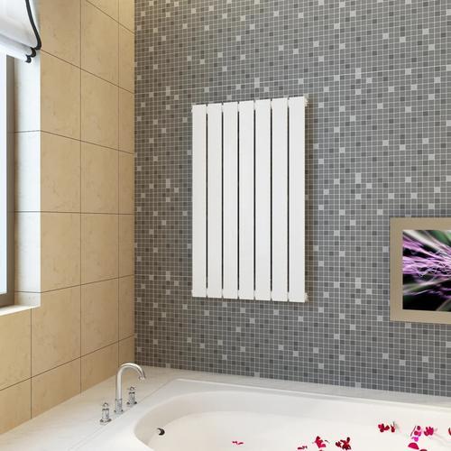 vidaXL Paneelheizkörper Weiß 542 × 900 mm