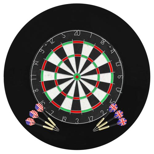vidaXL Professionelles Dartboard Sisal mit 6 Darts und Surround