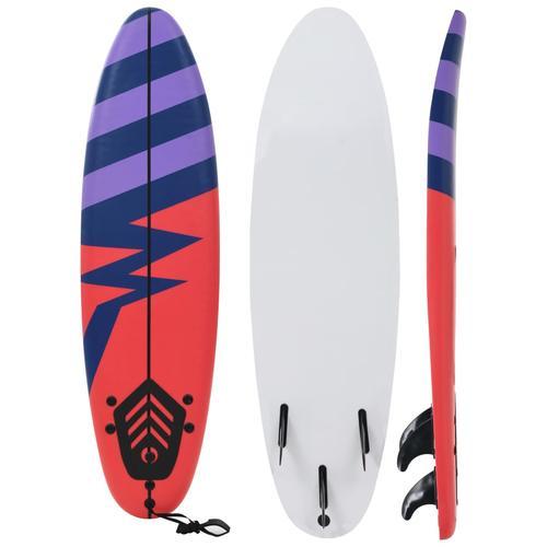 vidaXL Surfbrett 170 cm Streifen