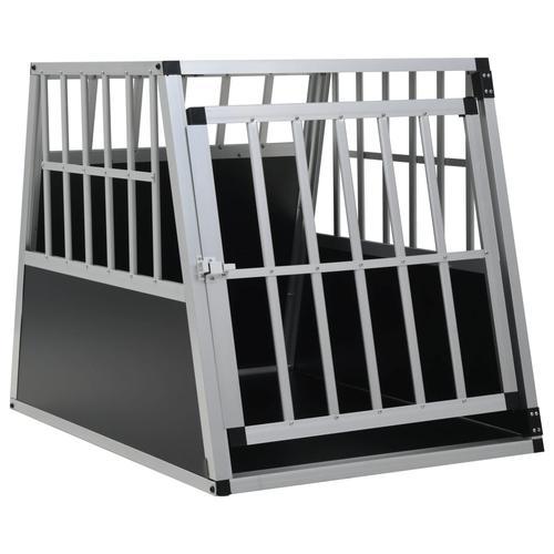 vidaXL Hundetransportbox mit Einzeltür 65 x 91 x 69,5 cm