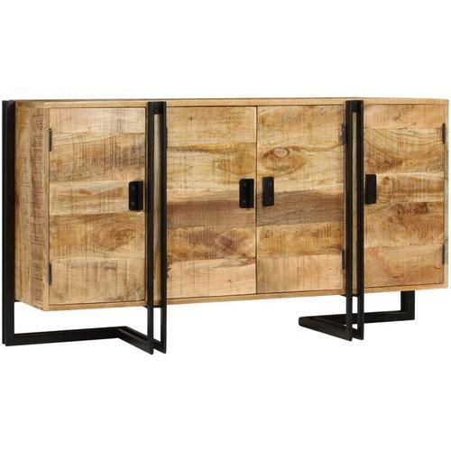 Vidaxl - Sideboard Mangoholz Massiv 150 x 40 x 80 cm