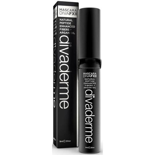Divaderme Diva FXII Mascara Black 9 ml Black