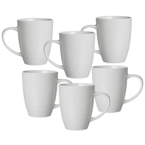 Ritzenhoff & Breker Becher Suomi, (Set, 6 tlg.), 6-teilig weiß Tassen Geschirr, Porzellan Tischaccessoires Haushaltswaren