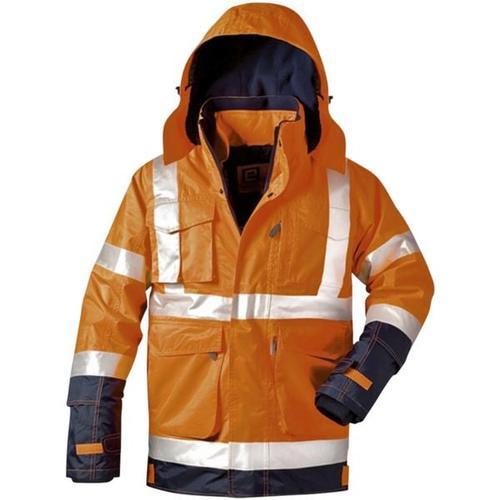 Warnschutz-Jacke 2in1 Stufe 3 Größe XL orange, elysee