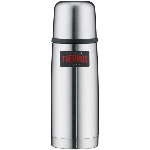 THERMOS Isolierkanne Light & Compact, 0,35 l, (1), aus bruchfestem Edelstahl silberfarben Kannen Geschirr, Porzellan Tischaccessoires Haushaltswaren