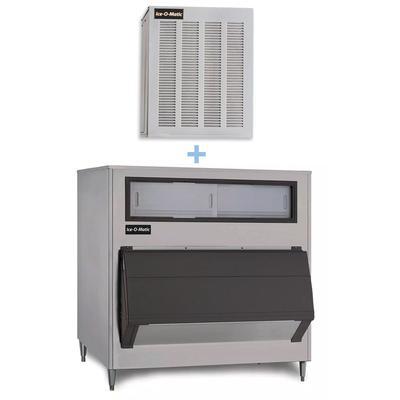 Ice-O-Matic GEM0650A/B1300-48 740 lb Nugget Ice Maker w/ Bin – 1320 lb Storage, Air Cooled, 115v