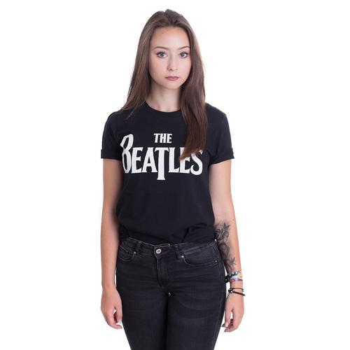 The Beatles - Drop T Logo - - T-Shirts