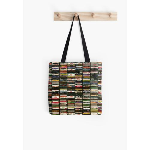 Tapes and Tapes and Tapes All Over Print Tote Bag