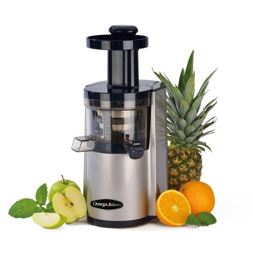Omega VSJ843 Slow Juicer (2.Generation) | Entsafter - Saftpresse - Slow Juicer | + Rezeptbuch + Filterfrosch