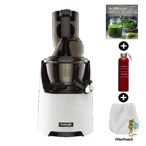 Kuvings EVO820 Kuvings Evolution Cold Press Juicer | Entsafter - Saftpresse - Slow Juicer | + Rezeptbuch + Flasche + Filterfrosch