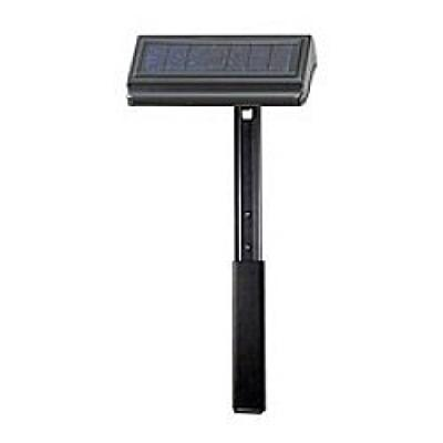 Whitehall Products Standard and Estate Lawn Solar Lamp with Extender, Black