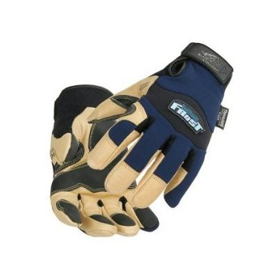 Reinforced Insulated Grain Pigskin Gloves (Size Large)
