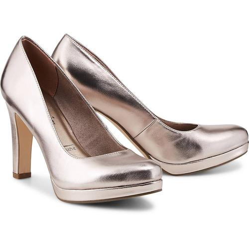 Tamaris, Fashion-Pumps in bronze, Pumps für Damen Gr. 38