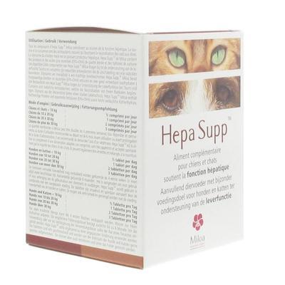 Miloa Hepa Supp™ pc(s) comprimé(s) à croquer