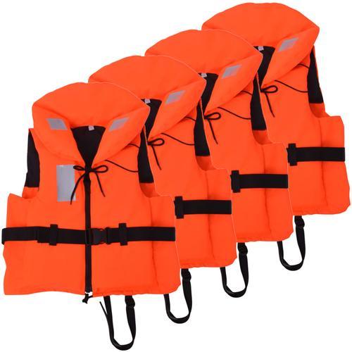 vidaXL Schwimmwesten 4 Stk. 100 N 40-60 kg