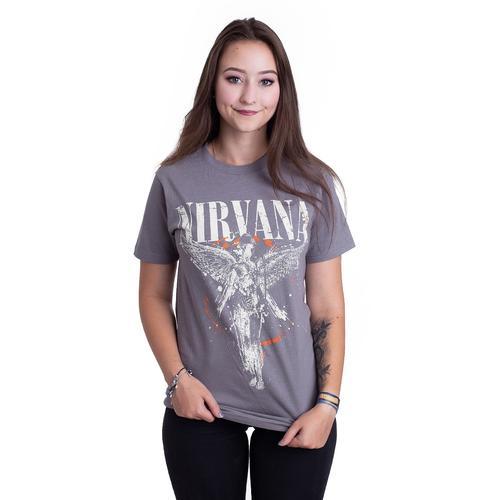 Nirvana - Galaxy In Utero Asphalt - - T-Shirts