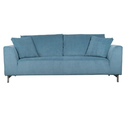 Zuiver Sofa Dragon Rib grau