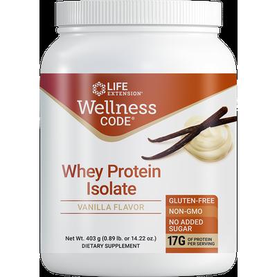 Wellness Code® Whey Protein Isolate , Vanilla, 403 grams