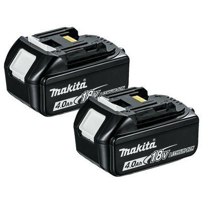 2 X Makita 18V 4.0Ah Li-Ion LXT ...