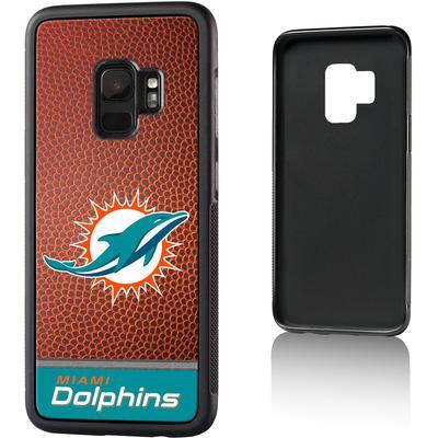 Miami Dolphins Galaxy Bump Case with Football Design
