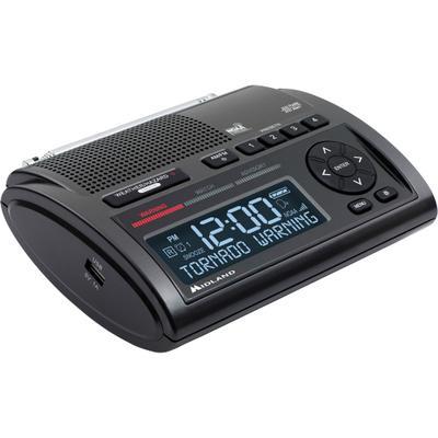 Midland WR400 Weather Alert AM/FM Clock Radio